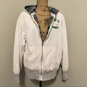 💕Vintage American Eagle zip up hoodie. Size L🛍